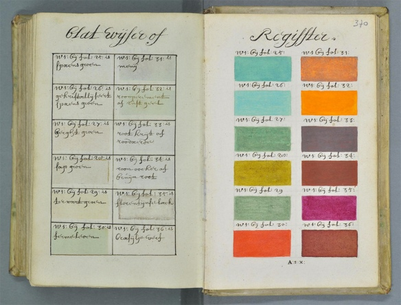 this is colossal: 271 years before pantone
