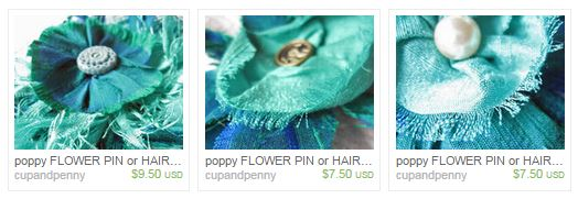 snip blue flowers